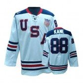 Olympic Hockey Team USA Patrick Kane Authentic Men's Nike White Jersey: #88 1960 Throwback