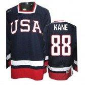 2010 Olympic Hockey Team USA Patrick Kane Premier Men's Nike Navy Blue Jersey: #88