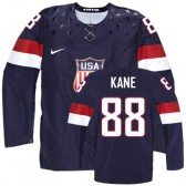 2014 Olympic Hockey Team USA Patrick Kane Authentic Men's Nike Navy Blue Jersey: #88 Away